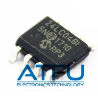 China 24LC04BT-I/SN Flash Memory Module 4kbit I2C Serial EEPROM 400 KHz Clock Frequency on sale