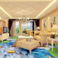 China watering Epoxy self-leveling bedroom bathroom 3D floor clear epoxy floor paint on sale