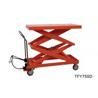 High Performance Pneumatic Lift Table Movable 1600 Length For Power Maintenance