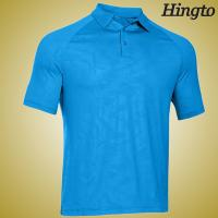 Durable 100 cotton embroidered polo shirts light blue for Embroidered polo shirts cheap