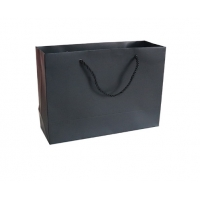 Cheap Flexographic Printed Paper Shopping Bags for sale
