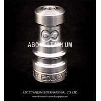 Cheap wholesale nail supplies universal domeless titanium nail with GR2 14mm/18mm for sale
