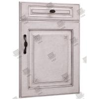 Cheap Moistureproof White Wooden Moulded Doors With Lock , Handle And Hinges for sale
