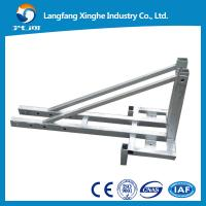 Suspended platform ZLP630, platform ladders safety, window cleaning equipment