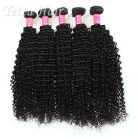 Cheap Long Lasting Grade 6A Brazilian Hair Kinky CurlyWeave With Tangle Free for sale