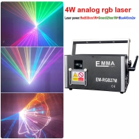 Cheap Full Color RGB 4W Laser Light/ Professional DJ Equipment/Club Laser Lights for Sale for sale