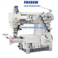 Cheap Small Horizontal Cylinder Bed Three Needle Interlock Sewing Machine FX720-356 for sale