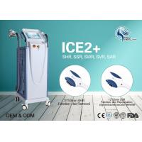 Cheap Beauty Salon 10Hz Fast Hair Removal SHR Hair Removal CE Approved With 2 Handpieces for sale