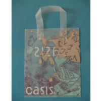 Cheap plastic handle bag shopping bag made to order for sale