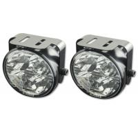 Cheap led front replacement rear truck round fog light for car and motorcycle for sale