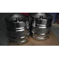 Cheap Stackable 30 Litre DIN Keg Mirror Polish With Engraved Logo Customized Thickness for sale