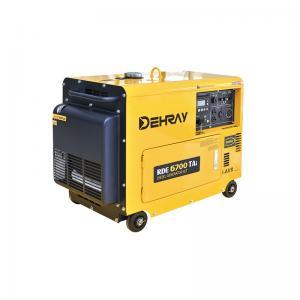 Cheap 6KVA 50Hz 240V Portable Diesel Powered Generator for sale