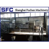 Cheap Industrial Fliter Press Sludge Thickening And Dewatering Equipment SS 304 Material for sale