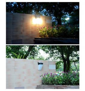 Quality 4W Solar Wall Light Solar Garden Light Outdoor Decoration Solar Fence Lamp Solar wholesale