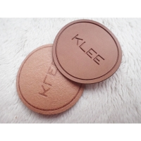 Cheap Custom LOGO Soft Debossed Foldable PU Patch Leather Label For Clothing Handbags Jeans for sale