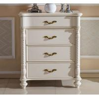 Cheap Concise Living Room Furniture white cabinet wooden drawers chest for sale