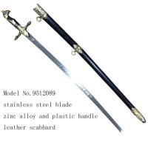 Cheap decorative ceremonial sword 9512089 for sale