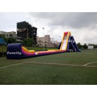 Buy cheap Plato 0.55mm Pvc Tarpaulin 56*14.5*13.5m Giant Inflatable Hippo Slide For Adults from wholesalers