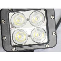 Cheap 40W Offroad LED Work Lights , Beacon 4WD UTE SUV Jeep Driving Lights for sale