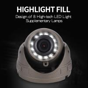 Cheap DC12-24V Bus CCTV Camera Lcd Monitor 600TVL Horizontal Resolution Dustproof for sale