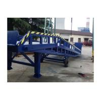 Cheap 8 ton Forklift Container Ramp Mobile Hydraulic Loading Dock Ramp with Supporting Legs for sale