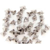 Cheap Silver Titanium Boy's Body Jewelry Parts Spike Nickel And Lead Free for sale
