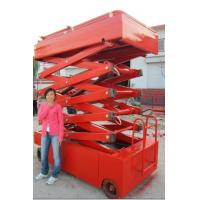 Cheap self-propelled electric lift table for sale