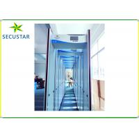 Cheap Sound And Led Alarm Walk Through Body Scanner 24 Zone With Dangerous Metal Object Detection for sale