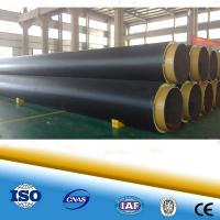 Cheap Polyurethane foam heat resistant pipe steel pipe for district heating steel pipe in pipe for sale