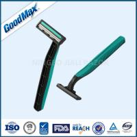 Cheap Rubber Handle Twin Blade Disposable Razor Any Color Available ISO Certificate for sale