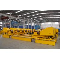 Buy cheap 220000 Ibs Bolt Adjustment Conventional Pipe Welding Rollers Synchronous Control Drive from wholesalers