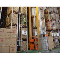 Cheap Professional Warehouse Vertical Racking System , ASRS Automated Vertical Storage System for sale