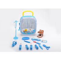 Cheap 17 Pcs Kids Play Pet Dentist Toy Medical Case , Role Play Children's Doctor Bag for sale