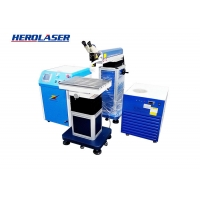 Cheap CE certified Crane Laser Mould Welding Machine On Precision Injection for sale