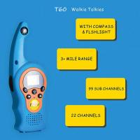 Cheap 2019 hot product children funny use walkie talkie with VOX/compass/lock screen functions walkie talkie toy for gifts for sale