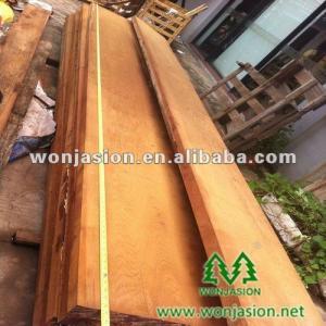 China Outside furniture floor decking used teak sawn timber, burma teak wood. on sale