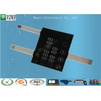 Cheap Light Transparent Capacitive Membrane Switch / Capacitive Touch Sensor Switch for sale