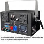 1W green 3D Animation Laser Light /Disco Laser Light/Stage Laser Light with SD