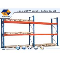 Cheap Corrosion Protection Pallet Warehouse Racking With Free Post Base Plate for sale