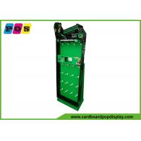 Toys Green POP Cardboard Power Wing Display With Peg Hooks And LCD Screen HD058