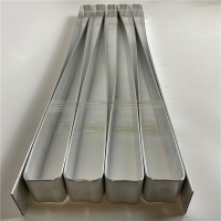 Buy cheap Extruded Aluminum Cooling Plate For Electrical Vehicle Battery Pack from wholesalers