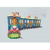 Cheap High Security Kids Ride On Train With Track Outside Play Toys Customized Color for sale
