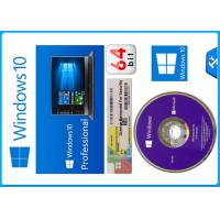 Buy cheap Microsoft Windows 10 Pro Software 64 bit OEM Package original License with from wholesalers
