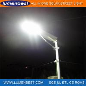 Cheap 50W Solar LED Street Light for Road Garden Lighting for sale