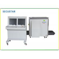 Cheap dual views security low conveyor x ray parcel scanner designed can be used in border and airport for sale