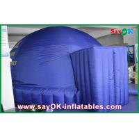 Buy cheap Dark Blue 5m Inflatable Dome Tent , Oxford Projection Cloth Inflatable Projection Dome from wholesalers