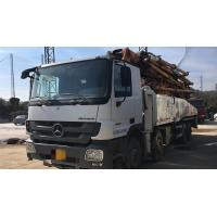 Cheap 8×4 Drive Mode Used Concrete Pump Truck BENZ-ZOOMLION Brand With 52m Pump for sale
