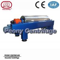 Water Sludge Decanter Centrifuge Decanter Type With PLC Control Manufactures