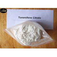 Cheap 99.7% Purity White Anti Estrogen Steroids Powder Toremifene Citrate for Breast Cancer CAS 89778-27-8 for sale