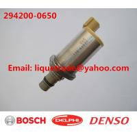 Cheap DENSO genuine Fuel Pressure Regulator / suction valve SCV 294200-0650 for sale